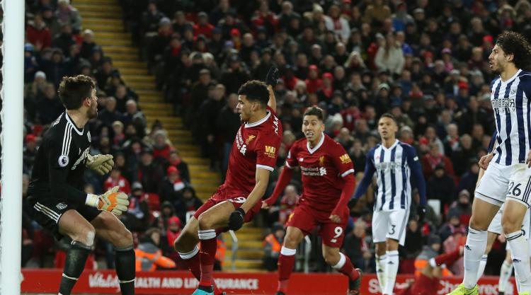 Solanke irked by disallowed goal but content with start to Liverpool life