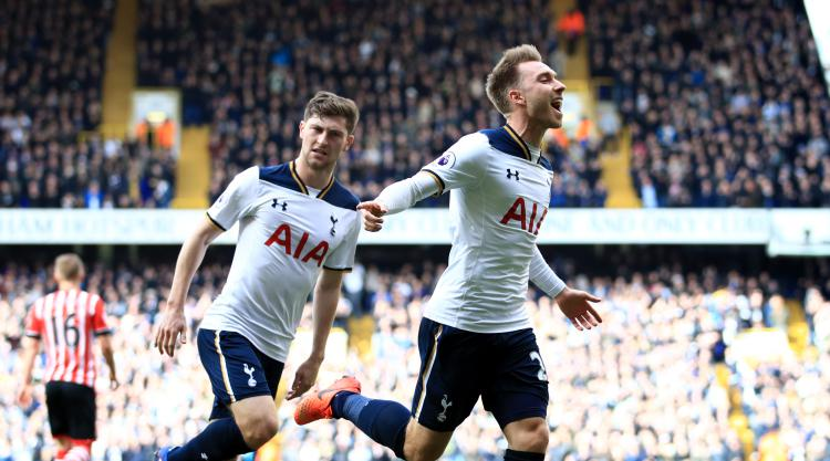 Eriksen and Alli cover for Harry Kane absence as Spurs beat Saints