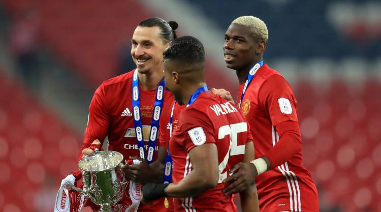Zlatan Ibrahimovic thrilled with 'special trophy' after United land EFL Cup