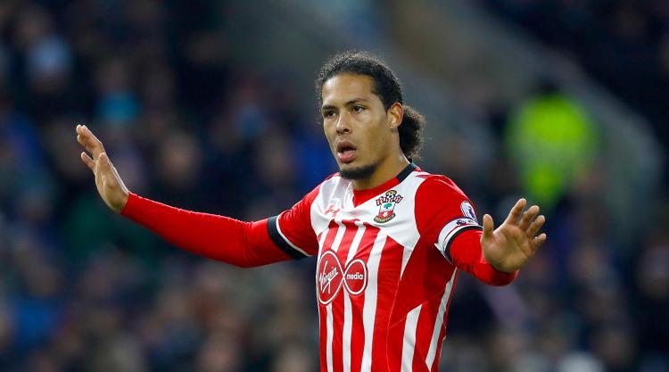 Virgil van Dijk dealt EFL Cup final blow as Southampton star faces long absence