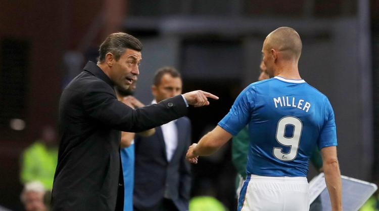 Agent hits out at Rangers over Kenny Miller treatment
