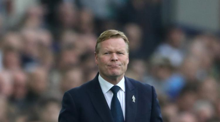 Ronald Koeman wants to coach Barcelona after taking Everton to Champions League