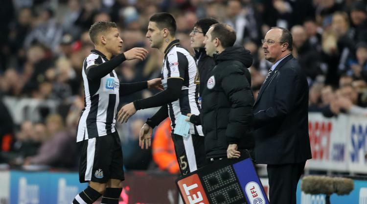 Newcastle's win over Aston Villa soured by injury to top-scorer Dwight Gayle