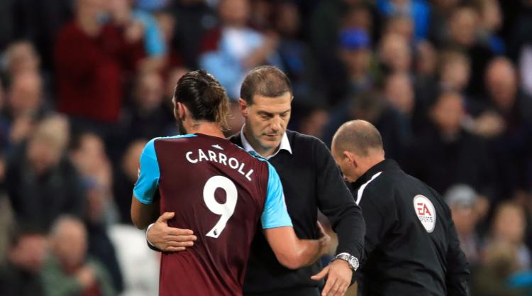 Andy Carroll vows West Ham are united behind boss Bilic