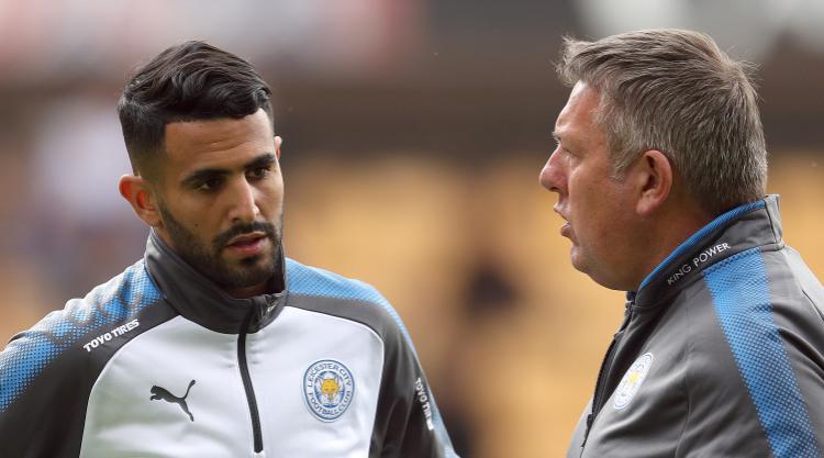Leicester boss Craig Shakespeare: Riyad Mahrez 'very focused and driven'