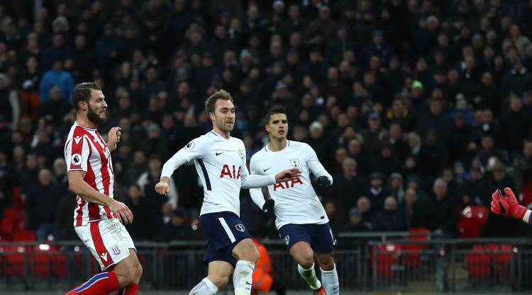 Christian Eriksen wants more of the same when Brighton visit Tottenham