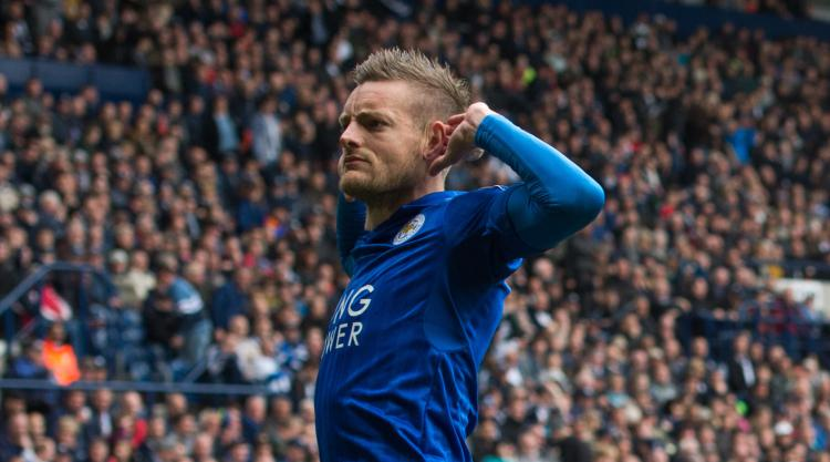 Jamie Vardy eases Leicester's relegation fears