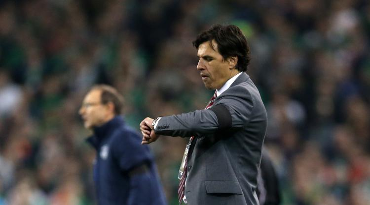 Wales boss Chris Coleman plays down Crystal Palace links