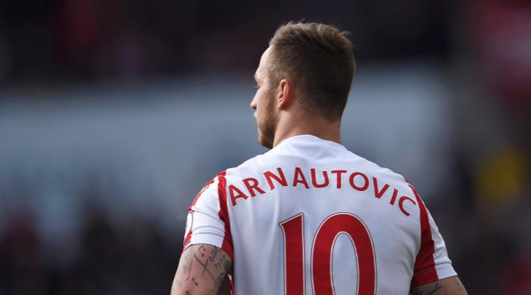 Stoke reject West Ham's bid for Marko Arnautovic