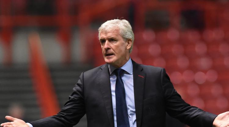 Stoke boss Hughes calls for reaction against Chelsea after Bristol City loss