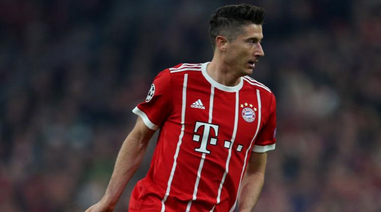 Robert Lewandowski missing for Bayern Munich's trip to Celtic
