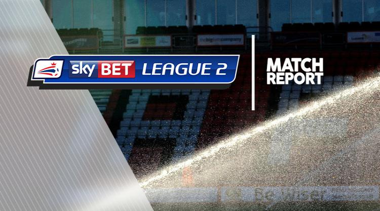 Cheltenham 1-0 Hartlepool: Match Report