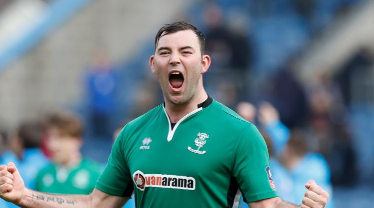 Lincoln striker Matt Rhead: We left Emirates full of pride despite FA Cup defeat