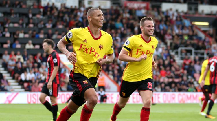 Watford at the double in deserved victory over Bournemouth