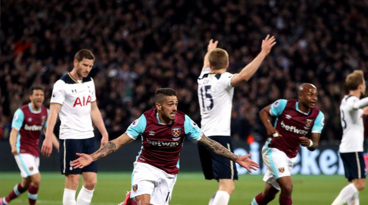 Manuel Lanzini sinks Tottenham to put Chelsea on verge of title
