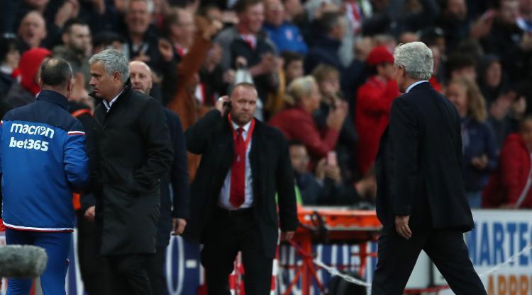 Mark Hughes: Mourinho handshake snub was both something and nothing