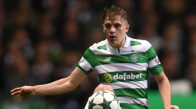Celtic winger James Forrest talks up his winner against Rosenborg