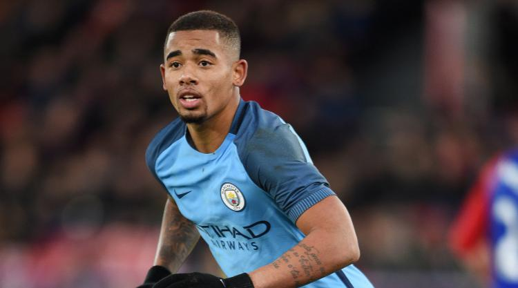 Manchester City injury blow as Gabriel Jesus suffers fractured metatarsal