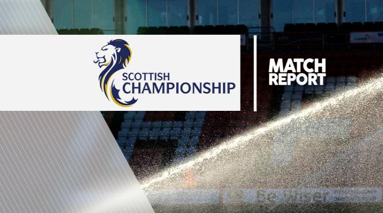 Falkirk 0-1 Morton: Match Report