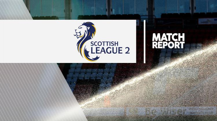 Edinburgh City 2-2 Berwick: Match Report